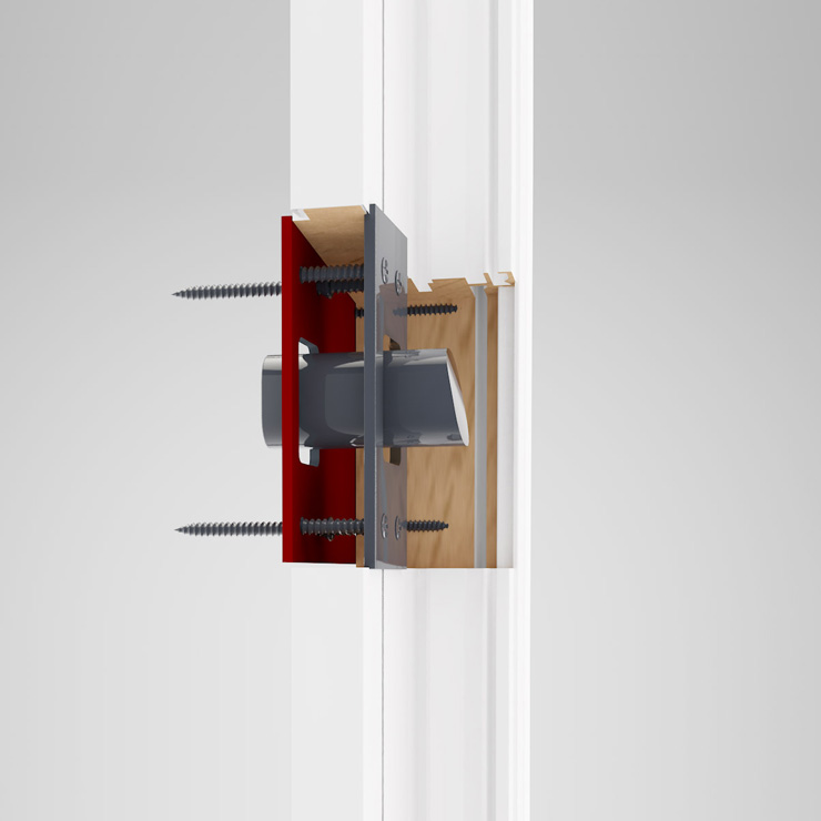 Standard Doors designed exclusive hardware that exceeds the highest security level rating in Canada & Home - Standard Doors